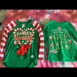 Baby Girl Christmas Shirts